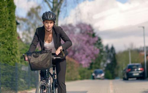 Fordelene med å sykle til jobben