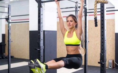 Fordeler ved å trene med pull-up-stenger
