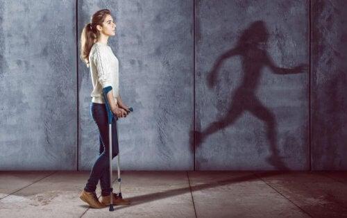Hvordan psykologi kan helbrede en skade
