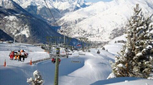 Baqueira Beret er en av de beste lovlige skiløypene i Spania.