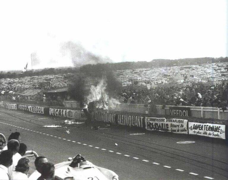 Ulykken i Le Mans var forferdelig.