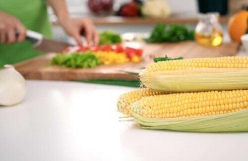Tre oppskrifter med mais for trening