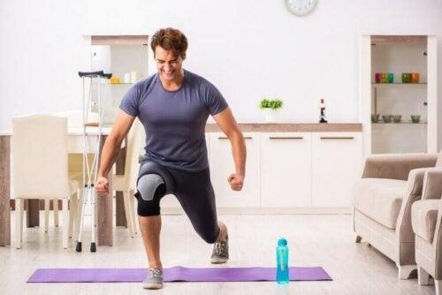 Å begynne å trene igjen etter en skade