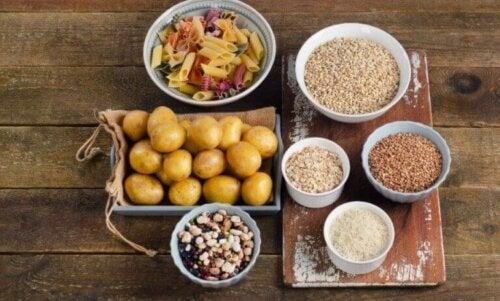 Sunne alternativer for å innta karbohydrater av høy kvalitet