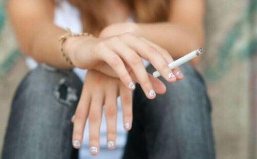 Den negative effekten av tobakk for idrettsutøvere