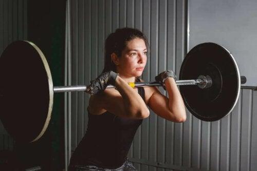 EPOC-effekten etter hard trening.