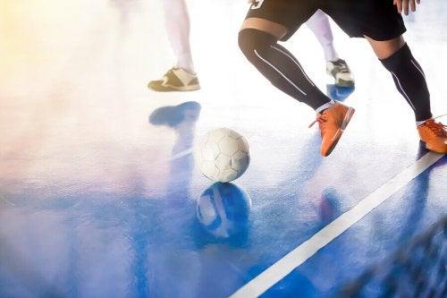 Forskriftene til innendørssporten futsal