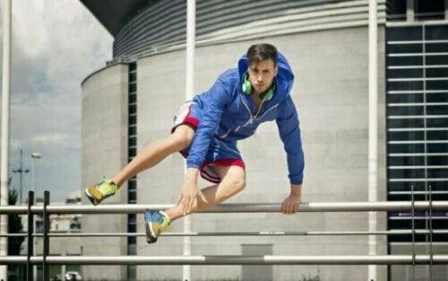 Parkour: den mest trendy og urbane sporten
