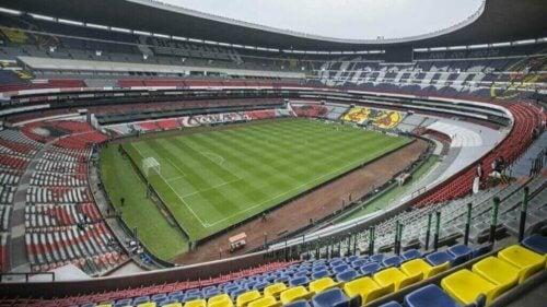 Azteca stadion der amerika og cruz azul er rivaler som deler et stadion. Bilde: AS México.