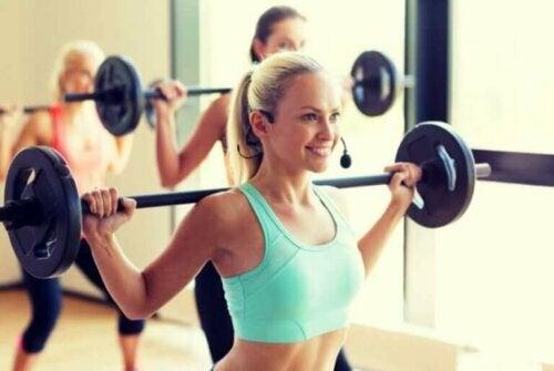 Bygg muskler med forskjellige treningsteknikker