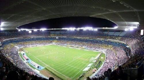 En fotogrpa av Jalisco stadion.