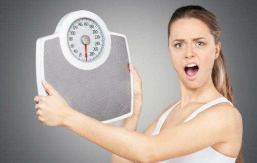 Fire grunner til at du går opp i vekt