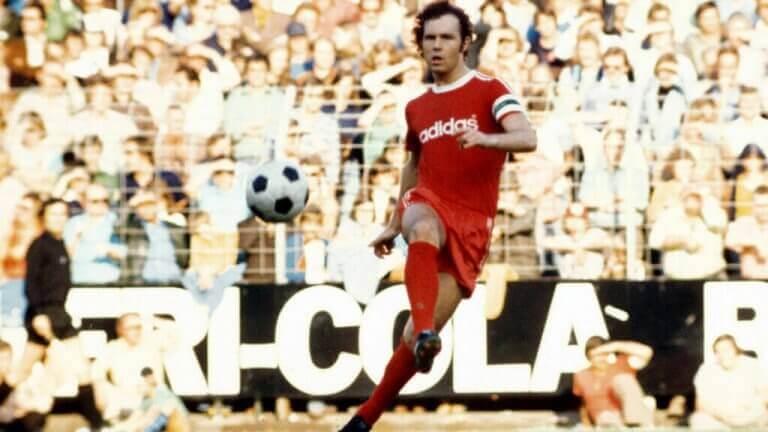 Franz Beckenbauer for Bayern München.