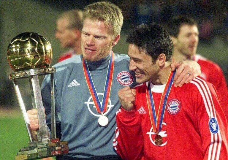 Bayern München feirer seier.