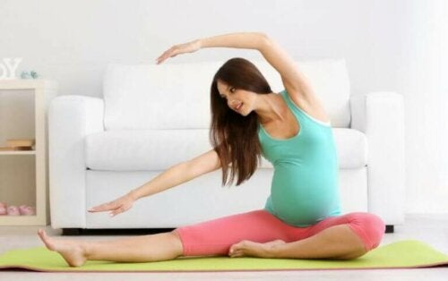 Er det OK å trene mens man er gravid?