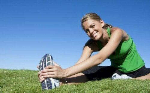 En sunn livsstil og fitness hører sammen