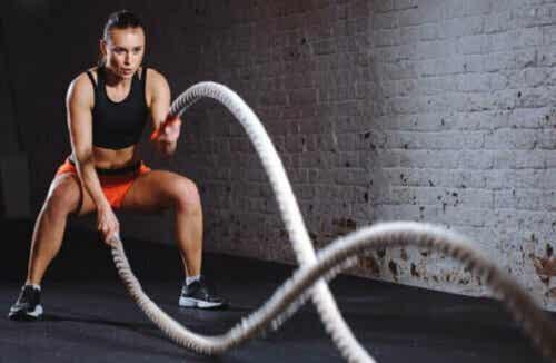 Battle Rope for å få i gang treningen din igjen