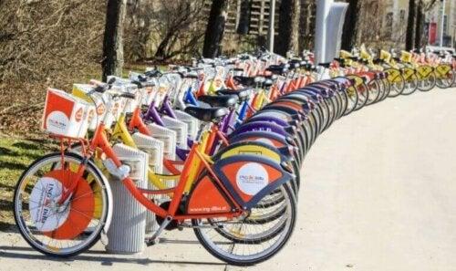 Tre grunner til å begynne å bruke delte sykler
