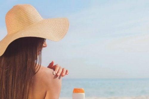 Det er trygt å bruke C-vitamin i solen