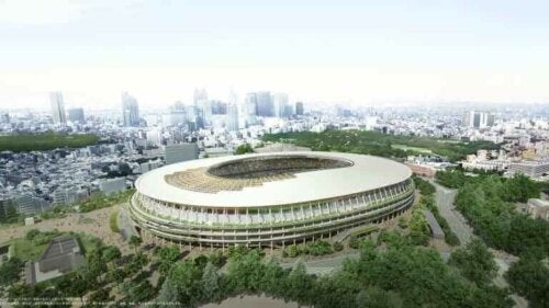 Fotballstadionene for Tokyo 2020: Tokyo olympiske stadion