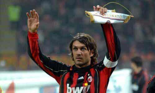 Et tilbakeblikk på karrièren til Paolo Maldini