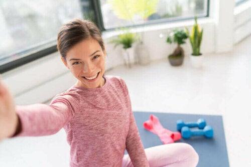 Reduserer trening under karantenen stress?