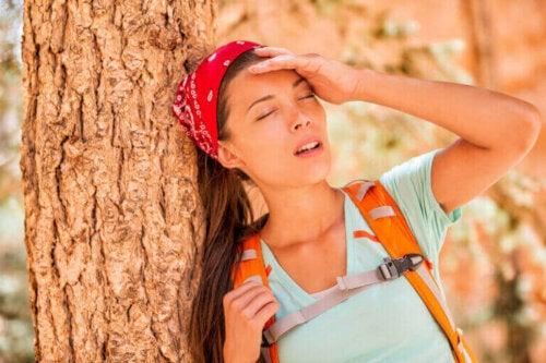 Effektene av dehydrering i kroppen