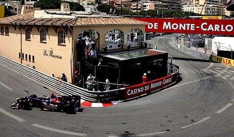 La rascasse er en skarp, rask sving i en skråning av Circuit de Monaco
