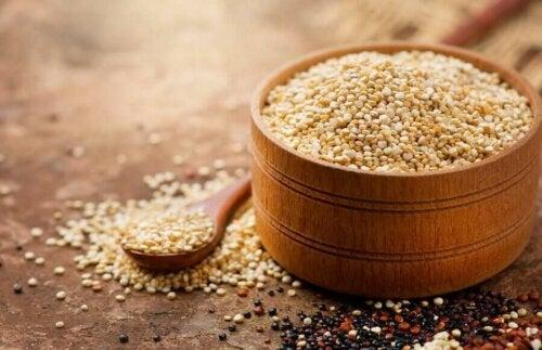 En bolle med quinoa