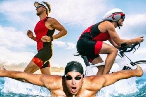 Ernæringstips for å forbedre ytelsen under en triatlon