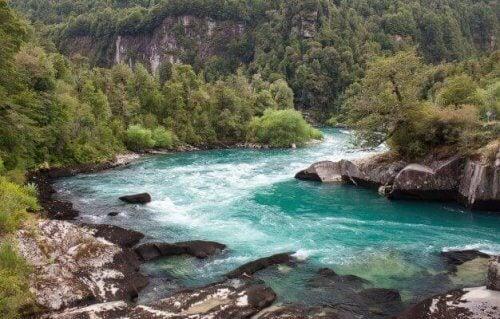 Futaleufu-elven, Chile.