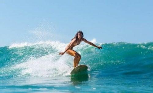 De viktige aspektene i en surfers kosthold