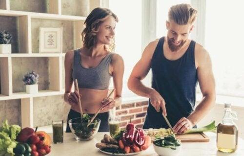 Hva bør man spise etter trening?