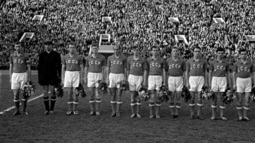 Sovjetunionen ved Europamesterskapet i 1960.