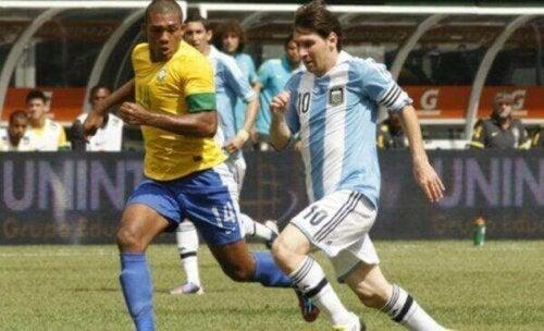 Rivalisering mellom Brasil, Argentina