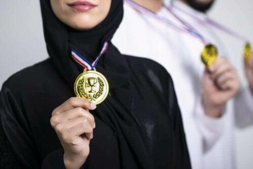 Historier om kvinnelige muslimske idrettsutøvere