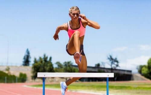 De mest populære grenene innen friidrett
