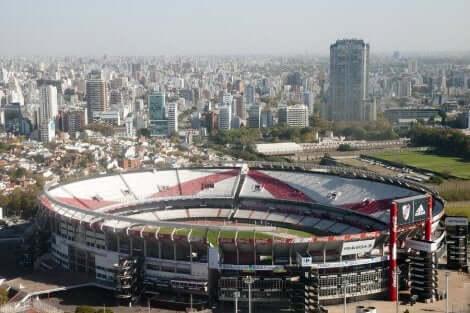 river plate stadion i Argentina