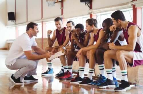 trener og spillere