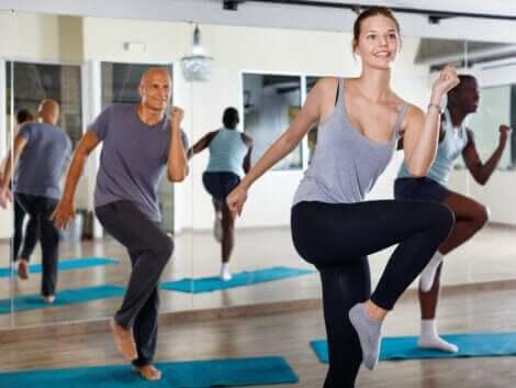 Dans er utmerket kondisjonstrening