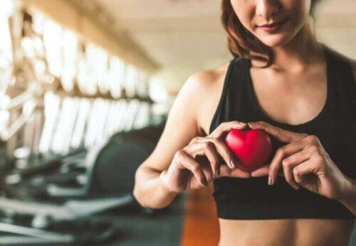 Endringer i hjertet under trening