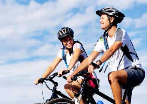 Hvor mange kalorier kan du forbrenne ved å sykle?