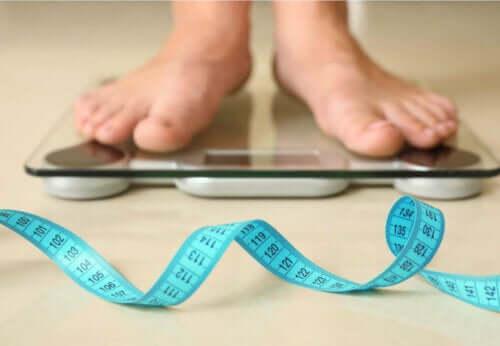 Gå ned i vekt ved å sykle.