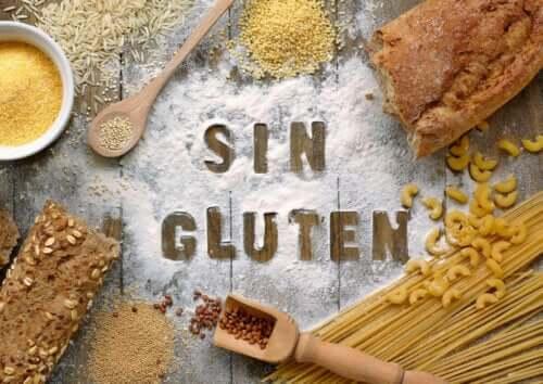 Glutenfri diett.