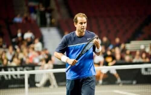 Tennisspilleren Sampras.