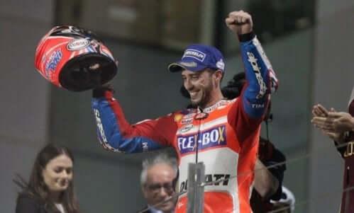 Andrea Dovizioso slo Lorenzo på Ducati-laget