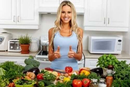 Hvordan følge strenge kosthold som det vegetariske