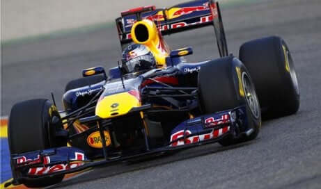 Sebastian Vettel sin karriere, red bull, formel 1