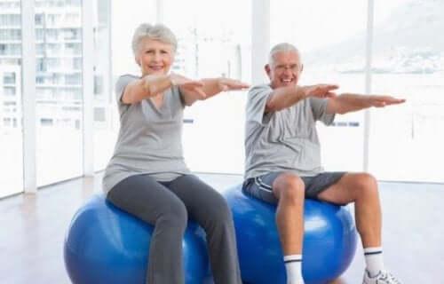 Trening bidrar til å øke forventet levealder