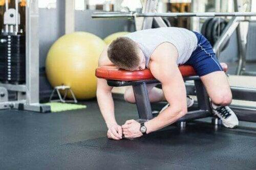 Tips for å ikke gi opp etter å ha begynt å trene